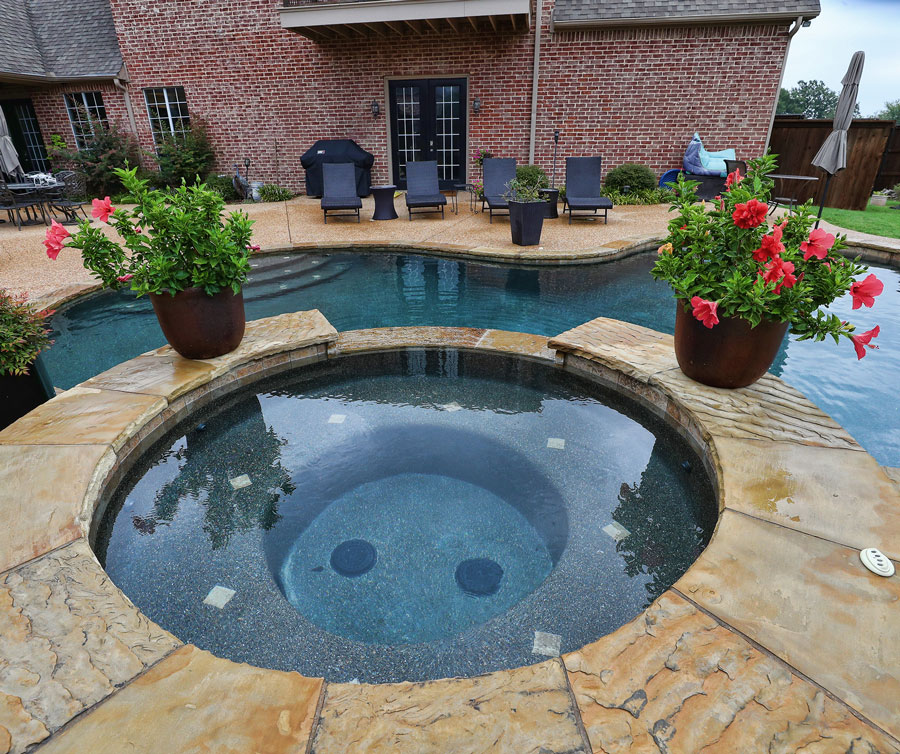 Custom Gunite Pool